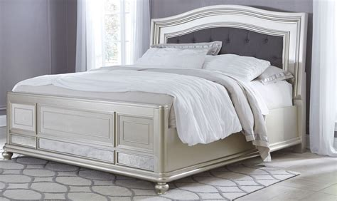 silver bedroom furniture sets coralayne silver bedroom set from ashley b650 157 54 96 17062 | b650 158 56 97 3