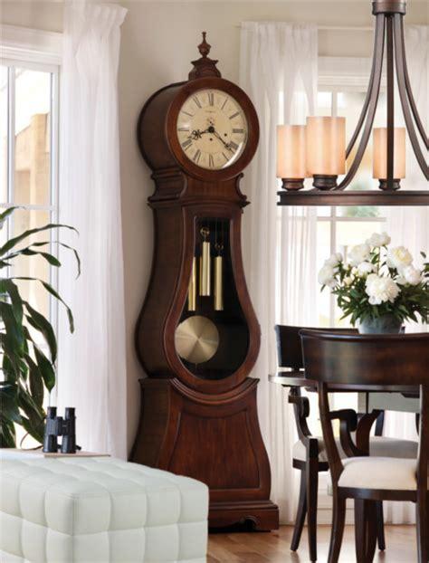 inspired howard miller clocks in dining room traditional