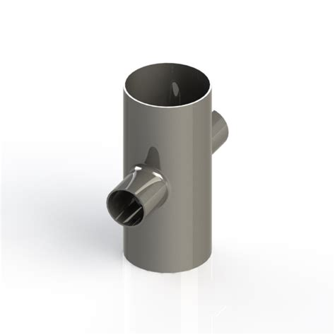 Vacuum Fitting Wall Fitting 1 5in Hitam buttweld 4 way reducing cross weld on 3 0 x 1 5 inch od vacuum fittings