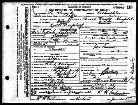 Birth Records Akron Ohio Mordaunt Family America