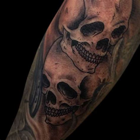 clown skull tattoo designs full arm for men and women