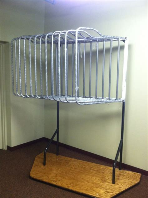 Free Standing Hanging Rack by Saddle Stackers Deluxe Free Standing Hanging Blanket Rack