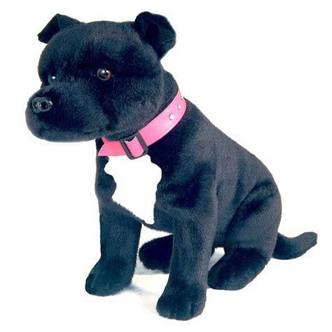 staffordshire bull terrier staffy dog soft plush toy dj
