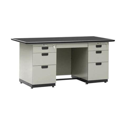 Meja Kantor Merk Alba jual alba dp 402 1 biro meja kantor grey