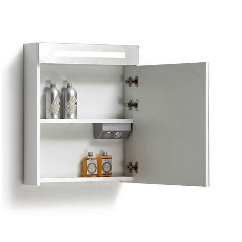 spiegelkast badkamer 60 cm spiegelkast met verlichting wcd 60 cm antraciet