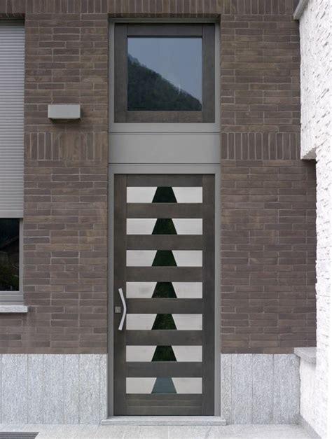 porta ingresso con vetro porta d ingresso in legno per esterno con pannelli in
