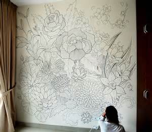 20 best ideas about sharpie wall on pinterest wall a sprawling wall sized mural drawn with only a black
