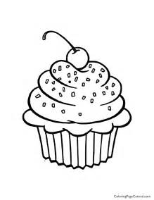 coloring cupcake free coloring pages art coloring pages
