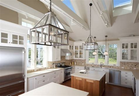 Vaulted Kitchen Ceiling Ideas Vaulted Ceiling Lighting Ideas Creative Lighting Solutions