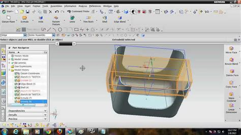 youtube tutorial nx unigraphics nx tutorial how to design a chair youtube