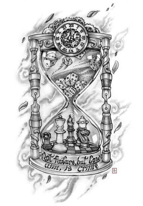 hourglass tattoo ideas  pinterest hourglass