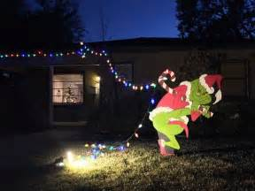 the grinch is stealing my christmas lights christmas