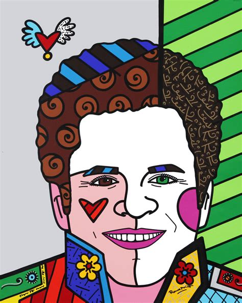 romero britto the bold patterns of romero britto alfalfa studio