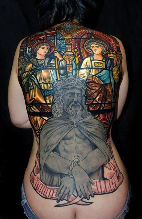 female full body tattoos gallery jesus tattoos and designs page 30