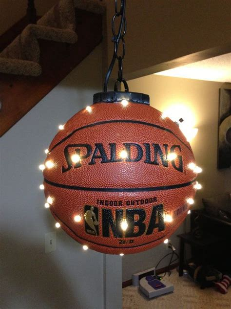 Hoop It Up 3x3 Basketball Loves The Idea Of This Diy Boys Lights
