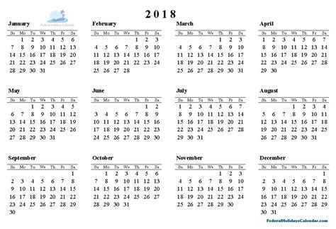 printable calendar 2018 holidays 2018 calendar printable template with holidays usa uk canada