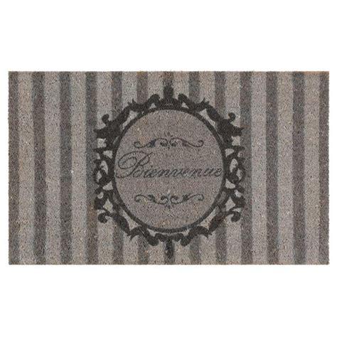 paillasson en fibre de coco 45 x 75 cm 201 l 201 gance maisons du monde