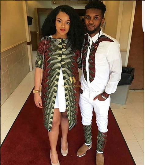 jacket design for couples latest best ankara styles nigerian wedding couple99