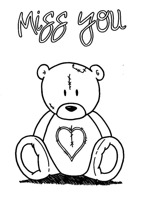 I Miss You Coloring Pages free coloring pages of i miss you color pages