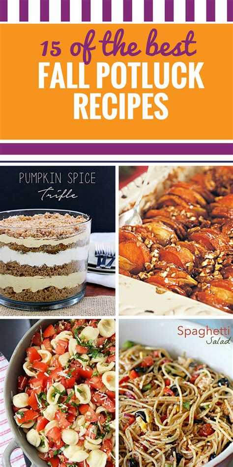 dish recipes for potluck 15 fall potluck recipes my and