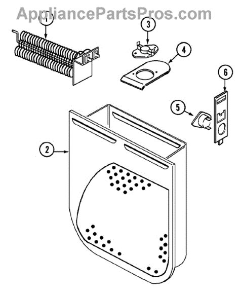 admiral dryer parts diagram parts for admiral lnc7766b71 heater parts