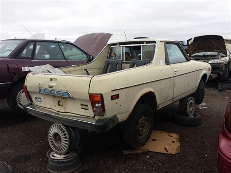 subaru brat 2014 junkyard find 1979 subaru brat the truth about cars