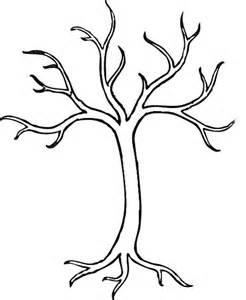 Leafless Tree Branch Outline by Bare Tree Pictures Cliparts Co