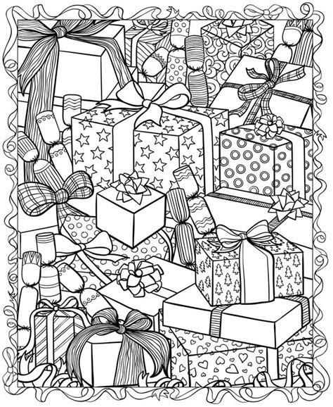 21 christmas printable coloring pages