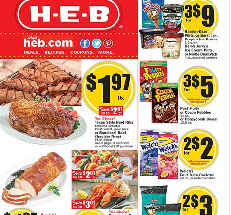 free printable grocery coupons heb walmart weekly price match deals for h e b 4 2 4 8