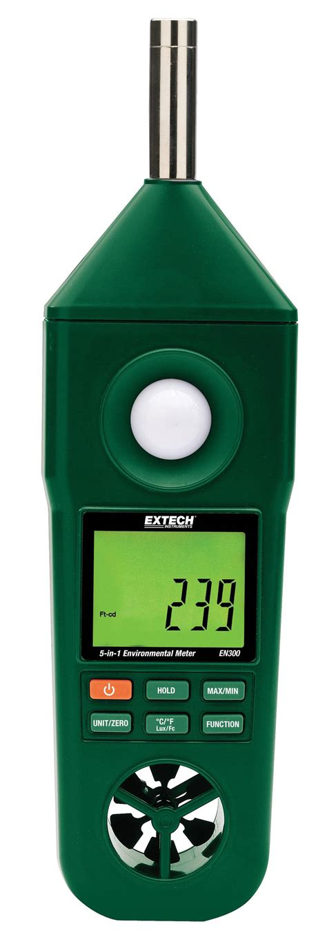 in meter extech en300 hygro thermo anemometer light sound meter aabtools dubai uae