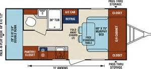 Rv Floor Plans Bunkhouse Cers