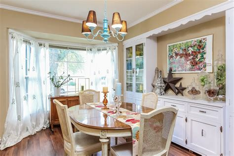 small cape  remodel eclectic dining room grand