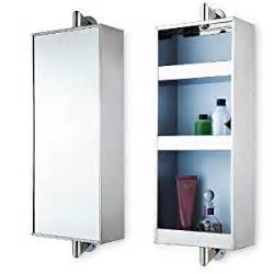 stainless steel rotating hanging mirror cabinet with 3