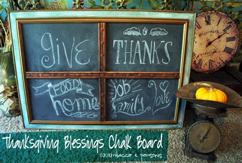 Ballard Designs Jacksonville diy thanksgiving chalk board tutorial