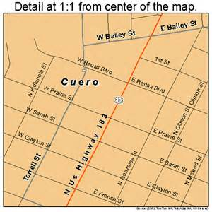 cuero map cuero map 4818092
