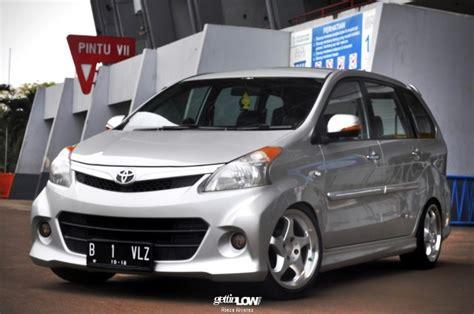 Spion Avanza Terbaru 45 modifikasi mobil avanza veloz putih hitam silver otodrift
