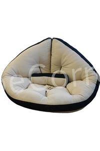 poltrona futon poltrona futon glove ecr 249 con bordo colorato arredo e