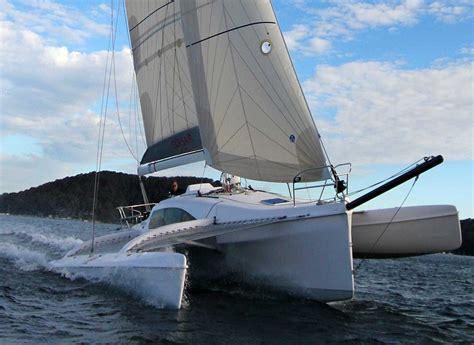 trimaran hull trimaran reviews archives multi hull reviews and travel