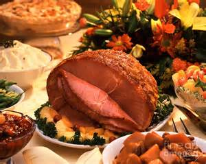thanksgiving dinner ham thanksgiving ham photograph by vance fox
