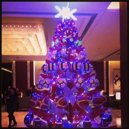 theme christmas tree picture of kerry hotel beijing
