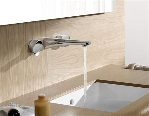 rubinetti da parete miscelatore a parete con comandi a leva gentle dornbracht