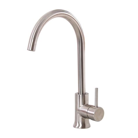 satin nickel kitchen faucets k12sn elite satin nickel finish single handle kitchen