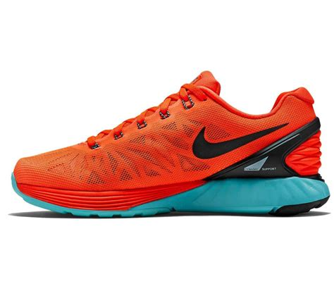 Nike Lunarglide 6 Premium nike lunarglide 6 ren schoen rood zwart