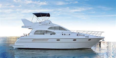 small boat rental dubai 42 feet yacht up to 14 guests al wasl yachts