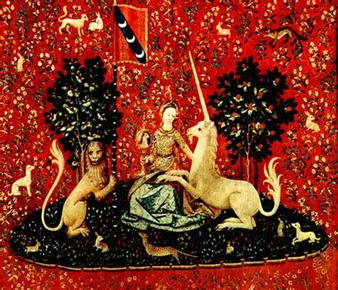 La Dame à La Licorne 6 Tapisseries la dame 224 la licorne s 233 rie de 6 tapisseries