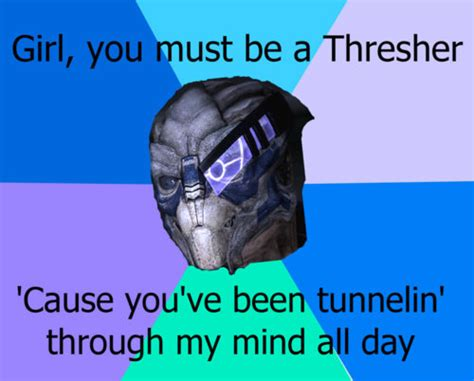 Mass Text Meme - garrus meme