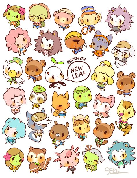 Animal Stickers animal crossing stickers available here kawaii