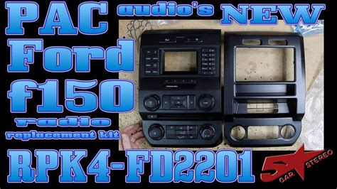 pac audios  ford  dash kit  rpk fd youtube