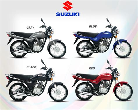 Suzuki Motorways   Suzuki GD110 and GD110S