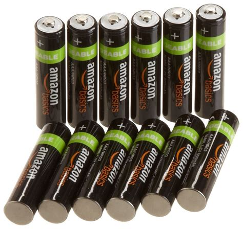 Amazonbasics Rechargeable by Amazonbasics Rechargeable Batteries As Low As 0 91 Each Shipped Price Low Cha Ching On A
